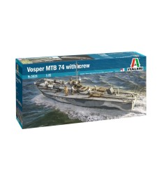 1:35 Торпеден катер VOSPER MTB 74 с екипаж