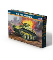 """1:35 Съветски танк Т-60 """"Битката за Сталинград"""" (T-60 """"Battle of Stalingrad)"""