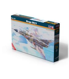 1:72  Френски свръхзвуков изтребител Mirage III E/S