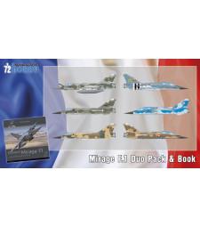 1:72 Френски изтребител Mirage F.1 Duo Pack с книга