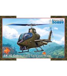 1:72 Американски хеликоптер AH-1G Cobra 'Early Tails'