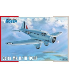 1:72 Американски самолет Delta Mk.II/III RCAF