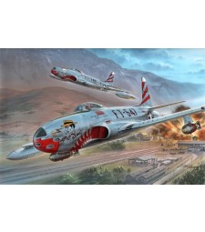 "1:32 Самолет F-80C ""Over Korea"""