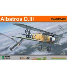 1:48 Германски биплан Albatros D.III PROFIPACK