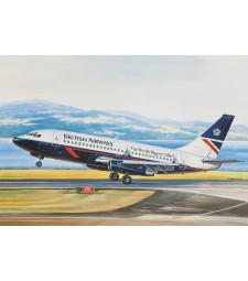 1:144 Средно магистрален пътнически самолет Боинг 737-200 Бритиш Еъруейс (Boeing 737-200 British Airways)