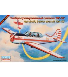1:72 Руски тренировъчен самолет Яковлев Як-52 (Yakovlev Yak-52 Russian aerobatics training aircraft)