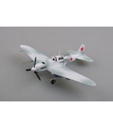"""1:72 Руски щурмови самолет II-2 """"Red 8"""", 1942."""