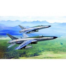 1:72 Изтребител бомбардировач на САЩ F-105D