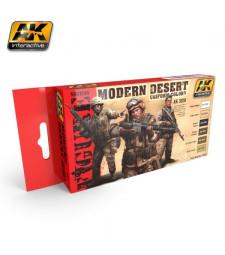 AK3220 MODERN DESERT UNIFORM COLORS - Комплект бои за фигури (6 x 17 ml)