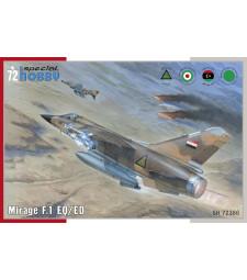 1:72 Френски изтребител Mirage F.1 EQ/ED