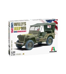 """1:24 WILLYS JEEP MB """"80th Year Anniversary"""""""