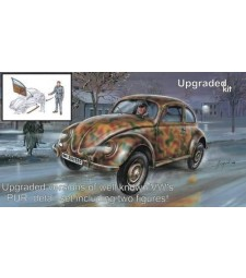 1:35 Военен автомобил VW type 82E UPGRADED