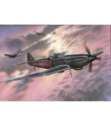 """1:72 Британски самолет B&P Defiant Mk.II """"Night fighter"""""""