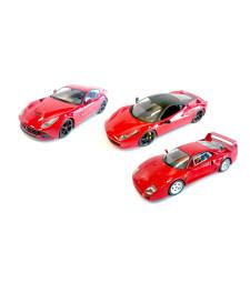 Комплект 3 броя Ferrari F40, Ferrari F12 Berlinetta and Ferrari 458 Italia