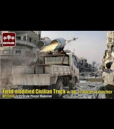 1:35 Модифициран цивилен камион с ракетна установка UB-32 Rocket Launcher (Field-modified Civilian Truck w/UB-32 Rocket Launcher)
