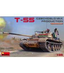 1:35 Среден танк Т-55 - Чехословашко производство (T-55 Czechoslovak Prod.)