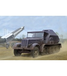 1:35 Германски полуверижен артилерийски влекач Sd.Kfz.7/3 Half-Track Artillery Tractor