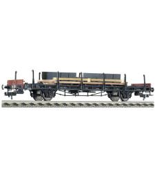 Товарен вагон-платформа тип S14, епоха III