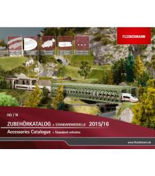 Каталог на Fleischmann H0/N за 2015/2016 година