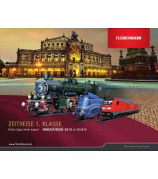 Каталог на Fleischmann за 2015 година