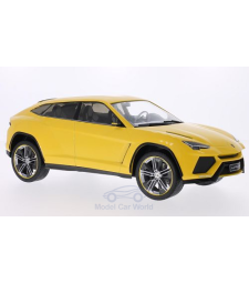 Lamborghini Urus - Metallic Yellow (doors and hoods closed)