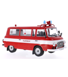 Barkas B 1000 Mini Bus - Fire Brigade, Ambulance - Doors and hoods closed - 1965