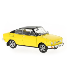 Skoda 110R Coupe (1980) - Solar Yellow with black roof