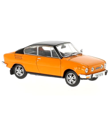 Skoda 110R Coupe (1980) - Orange  with black roof