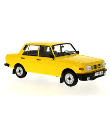 Wartburg 353 - Yellow - Doors and hoods closed - 1985