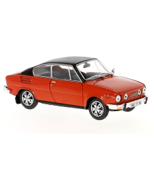 Skoda 110R Coupe (1980) - Racing Red with black roof