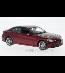 Alfa Romeo Giulia, metallic-red