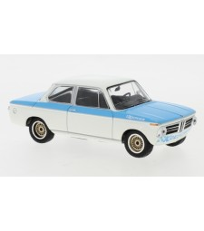 BMW Koepchen 2002 TII, white/blue, 1974