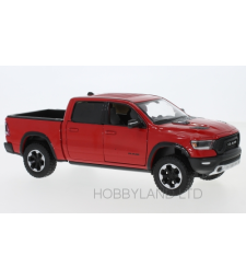 Dodge RAM 1500 Crew Cab Rebel, red, 2019