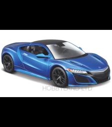 Acura NSX, matt blue