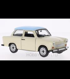 Trabant 601, beige/light blue