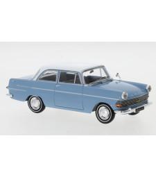 Opel Rekord P2, light blue/white, 1961