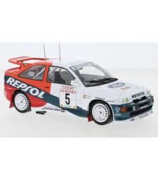 Ford Escort RS Cosworth, No.5, Repsol, Rallye WM, Rallye San Remo B.Thiry/S.Prevot, 1996
