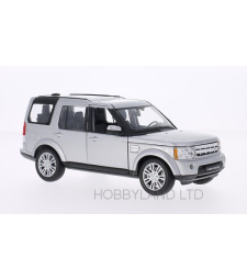 Land Rover Discovery 4, Silver