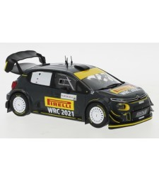 Citroen C3 WRC, Rallye WM, Rallye Sardinien, P.Solberg/A.Mikkelsen, 2020