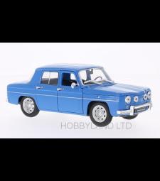 Renault R8 Gordini, light blue/white