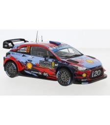 Hyundai i20 WRC, No.19, Rallye WM, Rallye Monte Carlo, S.Loeb/D.Elena, 2019
