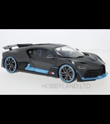 Bugatti Divo, matt-grey/light blue 2018