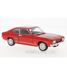 Ford Capri I 1600 GT XLR, red, 1969