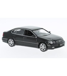Toyota Aristo, black, RHD, 2001