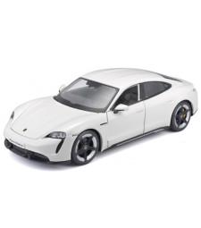 Porsche Taycan Turbo S, white