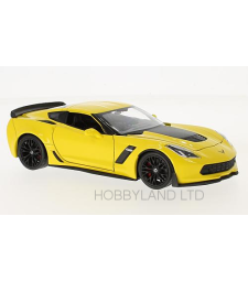 Chevrolet Corvette Z06, yellow, 2017