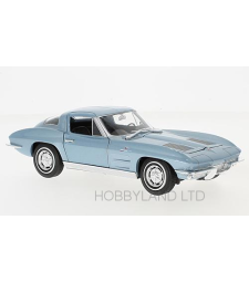 Chevrolet Corvette C2, metallic-blue, 1963