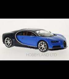 Bugatti Chiron - Metallic-blue/Dark Blue