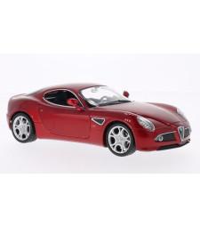 Alfa Romeo 8C Competizione, metallic-red