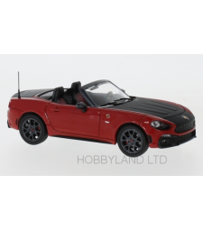 Fiat Abarth 124 Spider Turismo, dark red/black, 2017